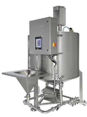 Brine mixing equipment