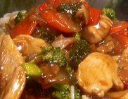 glossy chicken stir fry 190×140
